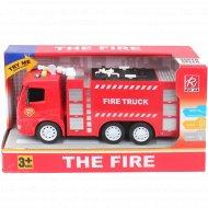 Инерционная пожарная машина.