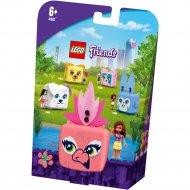 Конструктор «LEGO» Friends, Кьюб Оливии с фламинго