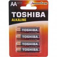 Элемент питания «Toshiba» LR6GCA BP-4C, 4 шт.