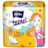 Прокладки женские «Bella for teens» Ultra energy 10 шт.