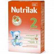 Молочная смесь «Nutrilak 2» 6-12 месяцев, 350 г.