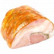 Продукт из свинины «Кармашек мясной люкс» копчено-вареный, 1 кг., фасовка 0.4-0.7 кг