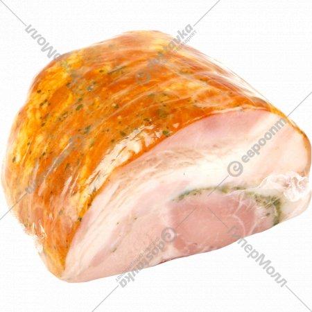Продукт из свинины «Кармашек мясной люкс» копчено-вареный, 1 кг., фасовка 0.5-0.7 кг