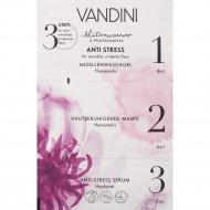Маска для лица «Vandini» антистресс, 3-х шаговая, 12 мл