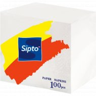 Салфетки бумажные «Sipto» 100 шт.
