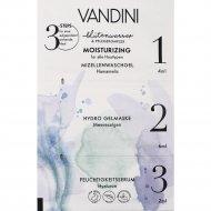 Маска для лица «Vandini» увлажнение, 3-х шаговая, 12 мл