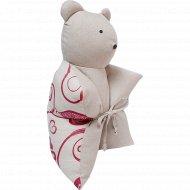 Декоративная подушка «Мишка» 45x45 см.