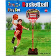 Кольцо на стойке баскетбольное, 20881V.