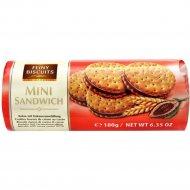 Печенье «Mini Sandwich» с какао-кремовой начинкой, 180 г.
