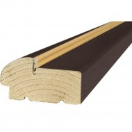 Коробка «Стройдетали» Вилейка ольха, Венге, 208х7х3.3 см