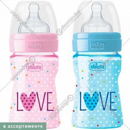 Бутылочка «Well-Being Love» с силиконовой соской, 150 мл.