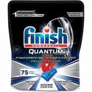 Капсулы для посудомоечных машин «Finish» Quantum Ultimate, 75 шт