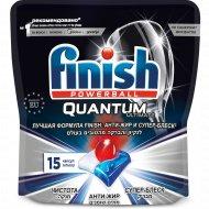 Средство для мытья посуды «Finish» 15 капсул.