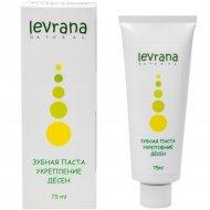 Зубная паста «Levrana» укрепление десен, 75 мл.