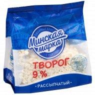 Творог «Минская марка» рассыпчатый, 9%, 350 г.