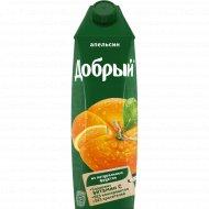 Нектар «Добрый» апельсиновый 1 л.