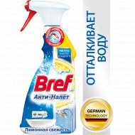 Чистящее средство «Bref» анти-налёт, лимонная свежесть, 500 мл