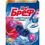 Туалетный блок Bref» Color Aktiv, цветочная свежесть, 50 г