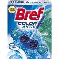 Туалетный блок «Bref» Color Aktiv, эвкалипт, 50 г