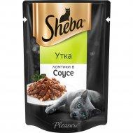 Корм «Sheba» ломтики в соусе, утка, 85 г
