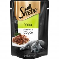 Корм для кошек «Sheba» ломтики в соусе, утка, 85 г