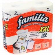 Бумажные полотенца «Familia» XXL, 200 листов.