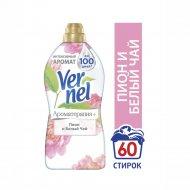 Кондиционер ополаскиватель «Vernel» Пион и Белый чай, 1.82 л.