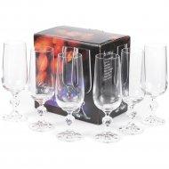 Набор бокалов для шампанского «Bohemia Crystal» Claudia, 6 шт, 180 мл