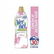 Кондиционер для белья «Vernel» пион и белый чай, 910 мл.