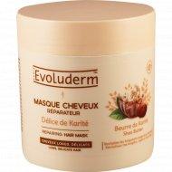 Маска для волос восстанавливающая «Evoluderm» с маслом карите, 500 мл