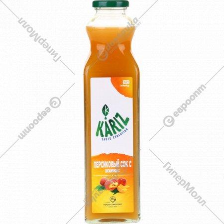 Сок «Kariz» персиковый, 750 мл.