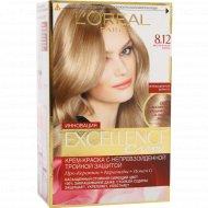 Крем-краска «L'oreal Excellence» мистический блонд 8.12.