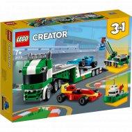 Конструктор «LEGO» Creator, Транспортировщик гоночных автомобилей