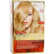 Крем-краска «L'oreal Excellence» сенсационный блонд 9.32.