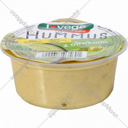 Паста с нутом и тахини «Хумус» с оливками, 115 г.