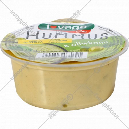 Хумус с оливками «Sante» 115 г.