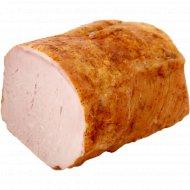 Продукт из свинины «Карбонад домашний люкс» копчено-вареный, 1кг., фасовка 0.4-0.6 кг