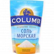 Соль морская пищевая «Columb» мелкая, 450 г.