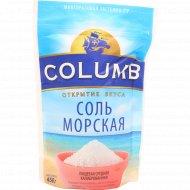 Соль морская пищевая «Columb» средняя, 450 г.