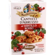 Печенье «Cantucci» с клюквой, 200 г.