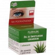 Гель для кожи вокруг глаз «Floslek» с очанкой и алоэ, 10 г
