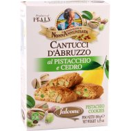 Печенье «Cantucci» с фисташкой и лимоном 180 г.