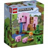 Конструктор «LEGO» Minecraft, Дом-свинья
