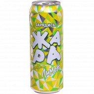 Напиток энергетический «Жара» лимон, 0.449 л.
