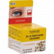 Гель для кожи вокруг глаз «Floslek» с очанкой и ромашкой, 10 г
