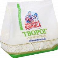 Творог «Деревенский» обезжиренный, 400 г.