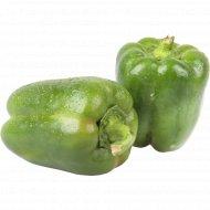 Перец зеленый, 1 кг., фасовка 0.6-0.8 кг