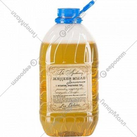 Мыло жидкое «Liv Delano» с экстрактами лекарственных трав, 3 кг.