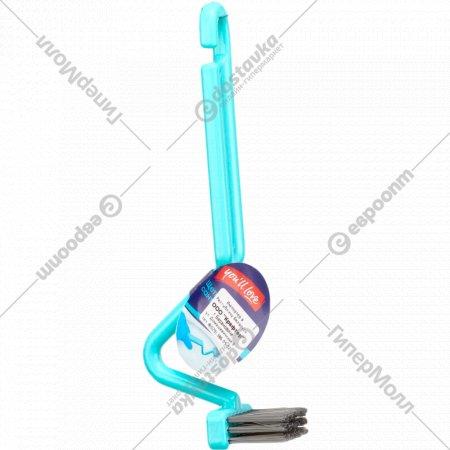 Щетка для чистки сантехники, 21 см.