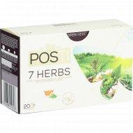 Чай травяной «Posti» смесь 7 трав, 20 х 1,5 г.